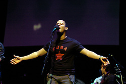 Buena Fe<br /> perform live in London, Great Britain <br /> 10th April 2006 <br /> <br /> Israel Rojas Fiel, Yoel Martínez Rodríguez Manager: Javier Otero<br /> <br /> Photograph by Elliott Franks
