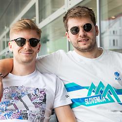 20210625: SLO, Basketball - Departure of Slovenian National Team to Kaunas