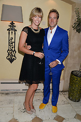 BEN FOGLE and his wife MARINA at an evening of Dinner & Dancing at Daphne's, 112 Draycott Avenue, London SW3 on 24th July 2013.
