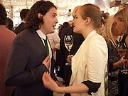 adam weymouth; polly morgan, Louis Vuitton openingof New Bond Street Maison. London. 25 May 2010. -DO NOT ARCHIVE-© Copyright Photograph by Dafydd Jones. 248 Clapham Rd. London SW9 0PZ. Tel 0207 820 0771. www.dafjones.com.