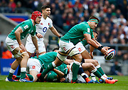 CJ Stander of Ireland  during the Guinness Six Nations between England and Ireland at Twickenham  Stadium, Sunday, Feb. 23, 2020, in London, United Kingdom. (ESPA-Images/Image of Sport)