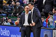 DESCRIZIONE : Campionato 2014/15 Serie A Beko Dinamo Banco di Sardegna Sassari - Upea Capo D'Orlando<br /> GIOCATORE : Stefano Sardara Gian Mario Dettori<br /> CATEGORIA : Fair Play Before Pregame<br /> SQUADRA : Dinamo Banco di Sardegna Sassari<br /> EVENTO : LegaBasket Serie A Beko 2014/2015<br /> GARA : Dinamo Banco di Sardegna Sassari - Upea Capo D'Orlando<br /> DATA : 22/03/2015<br /> SPORT : Pallacanestro <br /> AUTORE : Agenzia Ciamillo-Castoria/L.Canu<br /> Galleria : LegaBasket Serie A Beko 2014/2015