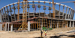 Cape Town 081217-Work continues on the Greenpoint Stadium. Picture Jeffrey Abrahams