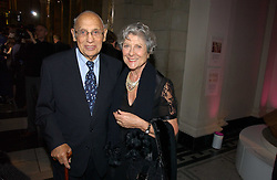 JOAN & SIDNEY BURNSTEIN of Brown's at Fashion Fringe at the British Fashion Awards 2006 sponsored by Swarovski held at the V&A Museum, Cromwell Road, London SW7 on 2nd November 2006.<br /><br />NON EXCLUSIVE - WORLD RIGHTS