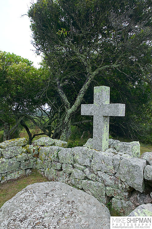 South America, Uruguay, Rocha, Parque y Fortaleza de Santa Teresa, The Park of the Fort of Santa Teresa, cemetery, camposanto