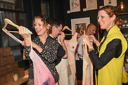 VALERIA NAPOLEONE; STEFANIA PRAMMA;, Evening preview of House of Voltaire.  A pop-up store selling artworks. homewares and limited edition prints. 31 Cork st. London W1S 3NU. 25 September 2019