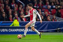 10-04-2019 NED: Champions League AFC Ajax - Juventus,  Amsterdam<br /> Round of 8, 1st leg / Ajax plays the first match 1-1 against Juventus during the UEFA Champions League first leg quarter-final football match / Jurgen Ekkelenkamp #40 of Ajax