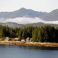 North America, USA, Alaska. Approaching Ketchikan.