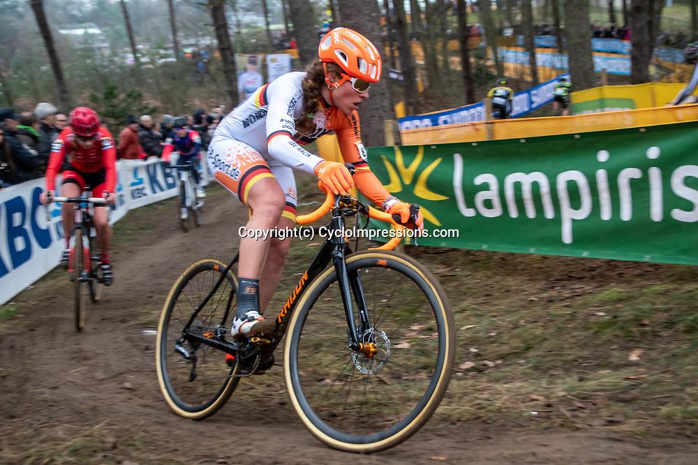 26-12-2019: Cycling: CX Worldcup: Heusden-Zolder: Germain champion Elisabeth Brandau