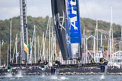 Artemis Racing. 29th of August, 2015, Gothenburg, Sweden