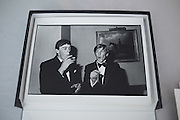 William Nott and Edward Hoare at the Grattan-Bellew/Sebag-Montefiore/Courtauld dance. Boodles. London. 1981
