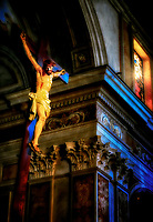 """The crucified Christ in the Cathedral of Saints Philip and James – Sorrento""…<br />
