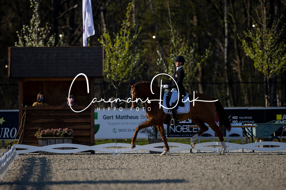 Wahlund Nathalie, NED, Cerano Gold<br /> CDI 3* Opglabeek<br /> © Hippo Foto - Dirk Caremans<br />  23/04/2021