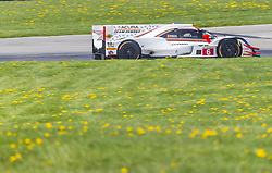 May 4, 2018 - Lexington, Ohio, United States of America - The Acura Team Penske Acura races through the turns at the Acura Sports Car Challenge at Mid Ohio Sports Car Course in Lexington, Ohio. (Credit Image: © Walter G Arce Sr Asp Inc/ASP via ZUMA Wire)