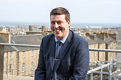 Pictured: Jamie Hepburn<br /> Business Minister Jamie Hepburn commented on labour market statistics during his visit to Elder House to see progress on the St James project.  He met Rochelle Burgess, Associate Director at Savills and Mike Prentice, executive Director of the CRBE retail development team.<br /> <br /> Ger Harley   EEm 11 September 2018