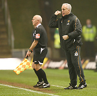 Photo: Steve Bond/Sportsbeat Images.<br /> Wolverhampton Wanderers v Leicester City. Coca Cola Championship. 22/12/2007. Mick McCarthy on the touchline