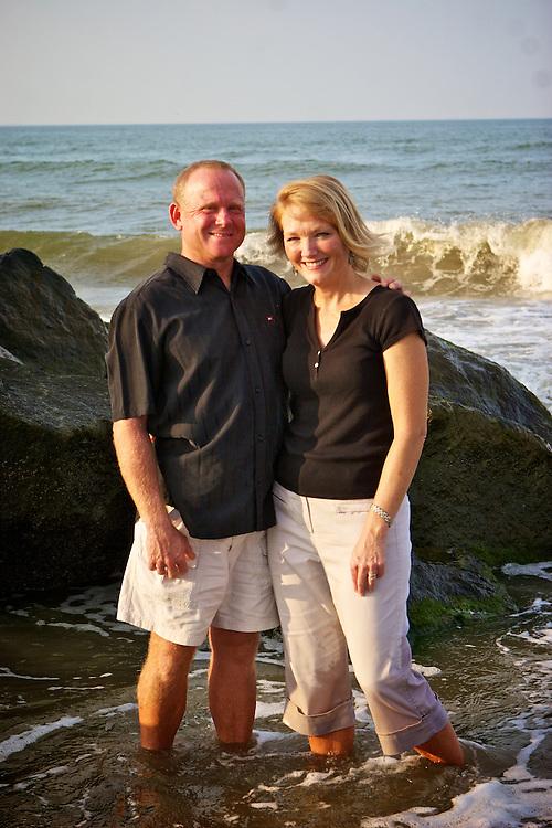 Herron family photos at Ft. Story, Virginia Beach, Virginia