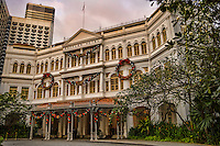 Raffles Hotel (Grand Opening in 1899)