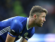 Gary Cahill of Chelsea during the Premier League match at the Etihad Stadium, Manchester. Picture date: December 3rd, 2016. Pic Simon Bellis/Sportimage