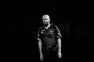 CORRECTION The body language says it all. Raymond van Barneveld looking dejected during the World Championship Darts 2018 at Alexandra Palace, London, United Kingdom on 17 December 2018.