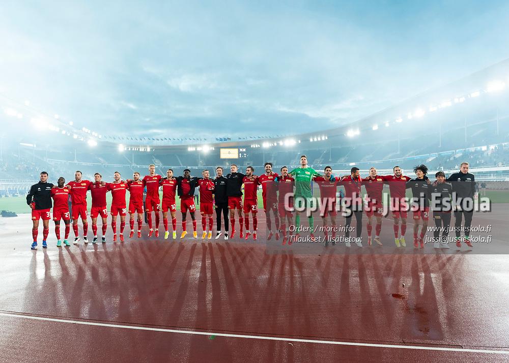 KuPS - Union Berlin. Eurooppa-liigan karsinta. Olympiastadion, Helsinki 19.8.2021. Photo: Jussi Eskola