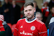 Billy Kee the former Accrington Striker who recently retired at the age of 29 during the EFL Sky Bet League 1 match between Accrington Stanley and AFC Wimbledon at the Fraser Eagle Stadium, Accrington, England on 1 February 2020.