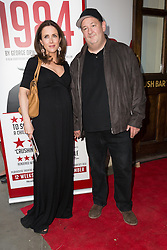 © Licensed to London News Pictures. 18/06/2015. London, UK. Johnny Vegas arrives at the press night for 1984 at the Playhouse Theatre, Northumberland Avenue in London tonight. Photo credit : Vickie Flores/LNP