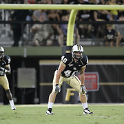 Central Florida fullback Brendan Kelly (40)during an NCAA football game between the Boston College Eagles and the UCF Knights at Bright House Networks Stadium on Saturday, September 10, 2011 in Orlando, Florida. (AP Photo/Alex Menendez)