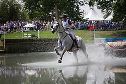 Caulier Virginie (BEL) - Nepal du Sudre<br /> CIC2* Greenwich Park Eventing Invitational<br /> Olympic Test Event - London 2011<br /> © Dirk Caremans
