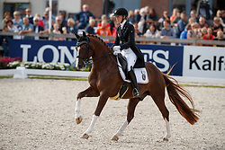 Brouwer Kirsten, NED, Sultan Des Paluds<br /> Longines FEI/WBFSH World Breeding Dressage Championships for Young Horses - Ermelo 2017<br /> © Hippo Foto - Dirk Caremans<br /> 03/08/2017