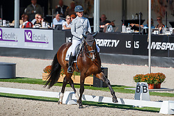 Heijkoop Danielle, NED, Deparon US<br /> Nederlands Kampioenschap dressuur<br /> Ermelo 2020<br /> © Hippo Foto - Sharon Vandeput<br /> 20/09/2020