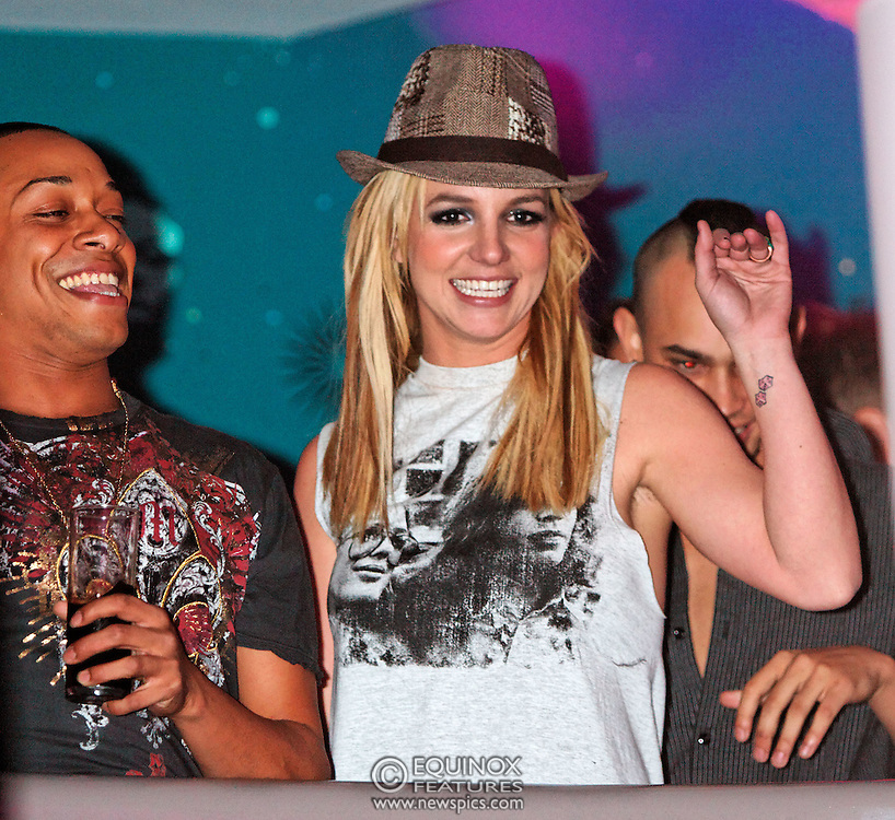 London, United Kingdom - 30 November 2008.Britney Spears disappears at G-A-Y club, at Heaven nightclub, Charing Cross, London, UK.Having performed earlier on X-Factor TV show despite suffering from nerves before appearing, she turned up at G-A-Y gay club at Heaven, London, UK. After arriving at 1.15am it was said she had a panic attack and was unable to take to the stage despite 1500 fans calling out Britney! Britney!.. The closest fans came to seeing their idol was a glimpse of her on the VIP balcony receiving a birthday cake for her 27th birthday which is on the 2 December. Fans had queued round the block all evening outside the club in the hope of seeing her..(photo by: EDWARD HIRST/EQUINOXFEATURES.COM)..Picture Data:.Photographer: EDWARD HIRST.Copyright: ©2008 Equinox Licensing Ltd. - +448700 780000.Contact: Equinox Features.Date Taken: 20081130.Time Taken: 023757+0000.www.newspics.com