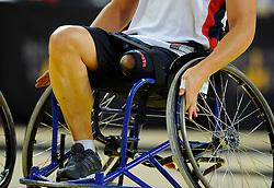 France v Australia - Photo mandatory by-line: Joe Meredith/JMP - Mobile: 07966 386802 - 13/09/14 - SPORT - FOOTBALL - London - Copper Box Arena - Invictus Games Day 3
