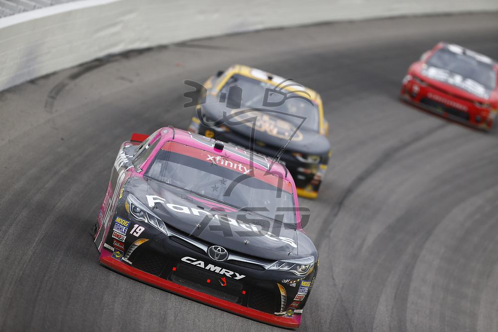 October 21, 2017 - Kansas City, Kansas, USA: Matt Tifft (19) brings his car through the turns during the Kansas Lottery 300 at Kansas Speedway in Kansas City, Kansas.