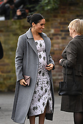 December 18, 2018 - London, United Kingdom - The Duchess of Sussex at Brinsworth House. Meghan, The Duchess of Sussex visits  Brinsworth House, Twickenham. (Credit Image: © Andrew Parsons/i-Images via ZUMA Press)