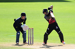 Peter Trego of Somerset in action.  - Mandatory by-line: Alex Davidson/JMP - 29/08/2016 - CRICKET - Edgbaston - Birmingham, United Kingdom - Warwickshire v Somerset - Royal London One Day Cup semi final