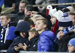 November 3, 2018 - Strasbourg, France - supporter Racing Strasbourg, during the French Ligue 1 football match between Strasbourg (RCSA) and Toulouse (TFC) on November 3, 2018 at the Meinau stadium in Strasbourg, eastern France. (Credit Image: © Elyxandro Cegarra/NurPhoto via ZUMA Press)