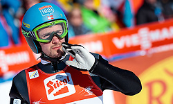 29.01.2017, Casino Arena, Seefeld, AUT, FIS Weltcup Nordische Kombination, Seefeld Triple, Skisprung, im Bild Jan Schmid (NOR) // Jan Schmid of Norway reacts after his Competition Jump of Skijumping of the FIS Nordic Combined World Cup Seefeld Triple at the Casino Arena in Seefeld, Austria on 2017/01/29. EXPA Pictures © 2017, PhotoCredit: EXPA/ JFK