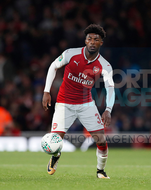 Arsenal's Ainsley Maitland-Niles in action during the Carabao Cup Third Round match at the Emirates Stadium, London. Picture date 20th September 2017. Picture credit should read: David Klein/Sportimage