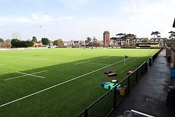 Shaftesbury Park pitch - Mandatory by-line: Paul Knight/JMP - 31/10/2020 - RUGBY - Shaftesbury Park - Bristol, England - Bristol Bears Women v Wasps FC Ladies - Allianz Premier 15s