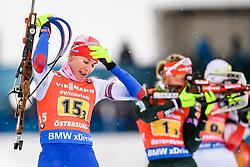 March 16, 2019 - –Stersund, Sweden - 190316 Anastasiya Kuzmina of Slovakia competes in the Women's 4x6 km Relay during the IBU World Championships Biathlon on March 16, 2019 in Östersund..Photo: Petter Arvidson / BILDBYRÃ…N / kod PA / 92268 (Credit Image: © Petter Arvidson/Bildbyran via ZUMA Press)