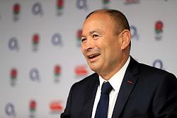 England head coach Eddie Jones during the press conference at Twickenham Stadium, London.
