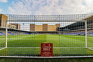 General stadium view inside Plough Lane before the EFL Sky Bet League 1 match between AFC Wimbledon and Oxford United at Plough Lane, London, United Kingdom on 20 April 2021.