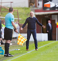 Dundee United's manager Ray McKinnon. Dunfermline 1 v 3 Dundee United, Scottish Championship game played 10/9/2016 at East End Park.