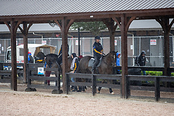 Abreiteplatz<br /> Tryon - FEI World Equestrian Games™ 2018<br /> Fotoimpressionen vom Veranstaltungsgelände vom Sonntag nach Hurricane Florence<br /> 16. September 2018<br /> © www.sportfotos-lafrentz.de/Stefan Lafrentz