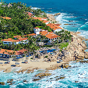 Aerial view of Hotel One & Only Palmilla. San Jose del Cabo. Baja California Sur, Mexico.<br /> Photo by: Victor Elias