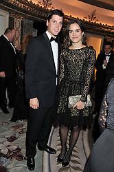 JAKE WARREN and CAROLINA GAWRONSKI at the 21st Cartier Racing Awards held at The Dorchester, Park Lane, London on 15th November 2011.