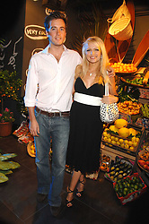 HANNAH SANDLING and OLIVER FELSTEAD at the launch of the Desigual flagship store at 222 Regent Street, London W1 on 28th June 2007.<br /><br />NON EXCLUSIVE - WORLD RIGHTS