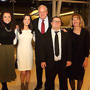 Kelley Farrell, Erin Farrell, Honoree Dan Farrell, Michael Nester, Kim Nester
