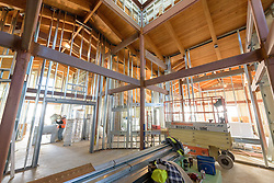 Meigs Point Nature Center at Hammonasset Beach State Park  <br /> Connecticut State Project No: BI-T-601<br /> Architect: Northeast Collaborative Architects  Contractor: Secondino & Son<br /> James R Anderson Photography New Haven CT photog.com<br /> Date of Photograph: 4 December 2015<br /> Camera View: 13